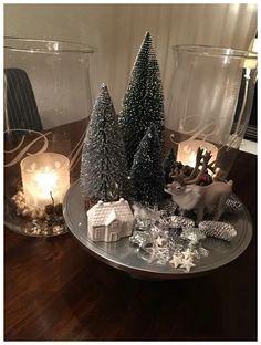 Zobrali obyčajný tanier, 4 sviečky a pár ozdob: 21 dôkazov, že z toho môžu byť tie najkrajšie dekorácie na adventný stôl! Beautiful Christmas, Simple Christmas, Christmas Home, Christmas Holidays, Christmas Crafts, Easy Christmas Decorations, Christmas Centerpieces, Holiday Decor, Christmas Candles