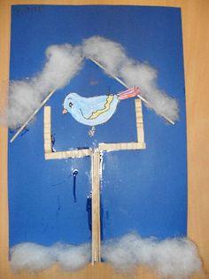 Vogels in de winter - Juf Leonie