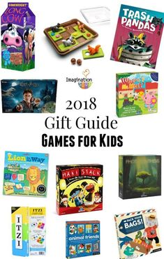 2018 Christmas & Holiday Gift Guide: Best Games for Kids