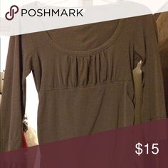 CAbi long sleeved tee Very good condition. 3/4 sleeves. CAbi Tops Tees - Long Sleeve