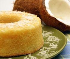 bolo de tapioca dourado - tapioca cake