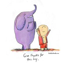 Give thanks for this day~ via Buddha Doodles Tiny Buddha, Little Buddha, Gratitude, Buddah Doodles, Illustrations, Give Thanks, Positive Thoughts, Buddha Thoughts, Prayers