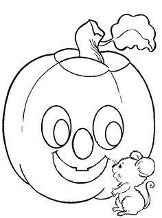 O Mundo Colorido Free Halloween Coloring PagesPumpkin