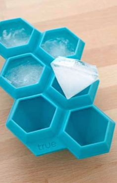 fancy diamond ice cube tray