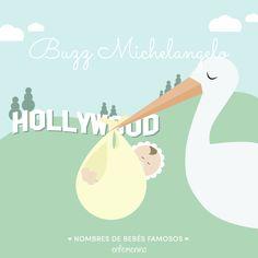 Nombres de #bebés #famosos #Buzz #michelangelo