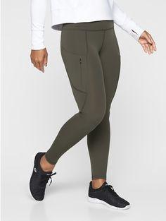 dc106567e5 NWT Athleta All In Tight Arbor Olive Size Medium Petite MP M P #209922  #fashion