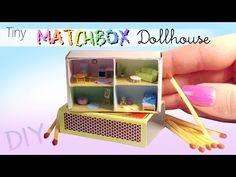 Miniature Matchbox Dollhouse Tutorial