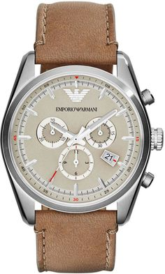 Emporio Armani Watch Mens #bezel-fixed #bracelet-strap-leather #brand-emporio-armani #case-depth-11mm #case-material-steel #case-width-42-5mm #chronograph-yes #classic #date-yes #delivery-timescale-4-7-days #dial-colour-cream #gender-mens #movement-quartz-battery #new-product-yes #official-stockist-for-emporio-armani-watches #packaging-emporio-armani-watch-packaging #style-sports #subcat-emporio-armani-mens #supplier-model-no-ar6040 #warranty-emporio-armani-official-2-year-guarantee…