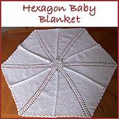 Ravelry: Hexagon Shells and Ladders Baby Blanket pattern by Rhelena's Crochet Patterns