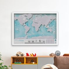Easy Tiger World Map.  World Map Corkboard Easy Tiger House Pinterest Walls and