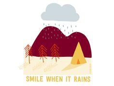 Smile when it rains http://helloadventurer.nl/