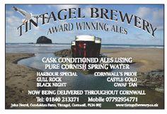 TINTAGEL BREWERY   North Cornwall: 'Award winning ales'     ✫ღ⊰n