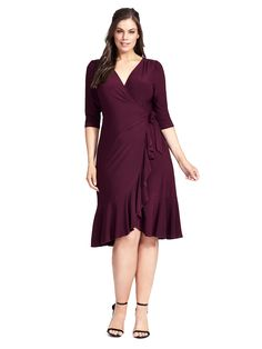 Whimsey Wrap Dress I