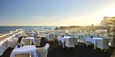 In the south of Portugal, on the coastline, Hotel Bela Vista & Spa welcomes you in a refurbished century family house overlooking the ocean Portugal, Hotel Spa, Outdoor Living, Home And Family, Europe, Ocean, Boutique Hotels, House, Lighting