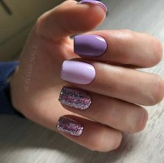 120 trending early spring nails art designs and colors 2019 page 34 - Nail Art D. - 120 trending early spring nails art designs and colors 2019 page 34 – Nail Art Designs – # - Stylish Nails, Trendy Nails, Cute Nails, My Nails, Dark Nails, Purple Nails, Acrylic Nail Designs, Nail Art Designs, Purple Nail Designs