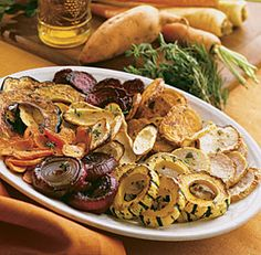 QUICK-ROASTED WINTER VEGETABLES http://www.finecooking.com/recipes/quick-roasted-winter-vegetables.aspx