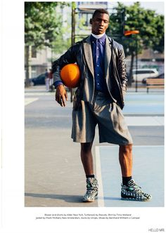 Adonis Bosso Hits the Basketball Court for Hello Mr. Magazine image Adonis Bosso Fashion Editorial 003 800x1128