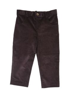 Boys Brown Cordoroy Pant