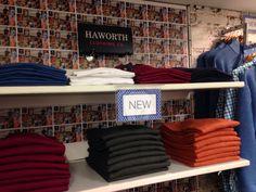 new season Haworth Menswear department postcard wallpaper #bealesofkeighley  @lovebeales
