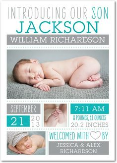 Girl Photo Birth Announcements - Welcomed Wonder: Watermelon by Tiny Prints. Oh my word its perfect! Newborn Pictures, Baby Pictures, Baby Boy Birth Announcement, Birth Announcements, Announcement Cards, Baby Birth, 3rd Baby, Baby Boys, Boy Photos