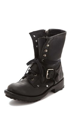 Ash Roses Lace Up Boots. You can see more boyfriend shoes at http://www.wantering.com/trends/boyfriend-shoes/