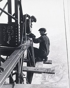 Lewis Hine, Empire State Building