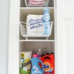 bathroom laundry utility closet Four Generations One Roof-24