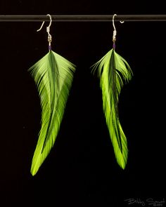 Farb-und Stilberatung mit www.farben-reich.com - feather earrings