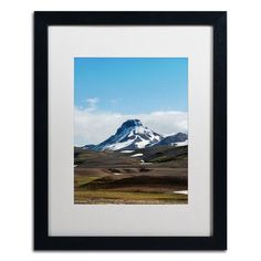 Trademark Art The Quiet by Philippe Sainte-Laudy Framed Photographic Print Size: