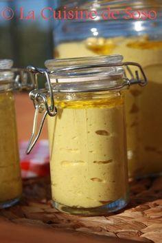 Moutarde maison, simple à faire , la tester c'est l'adopter !