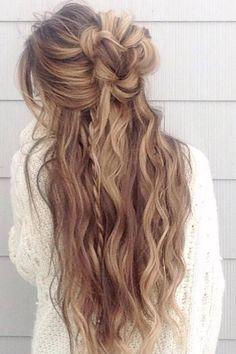 Glambytoriebliss long wedding hairstyles 44 | Deer Pearl Flowers
