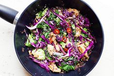 When I need a dinner that's ready in a flash, a quick and veggie-packed stir-fry is my go-to! Feel free to mix and match your veggies and flavours!
