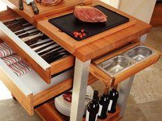 Carrinho para Preparar e Servir Churrasco - Utensílios de Cozinha - Magazine Luiza