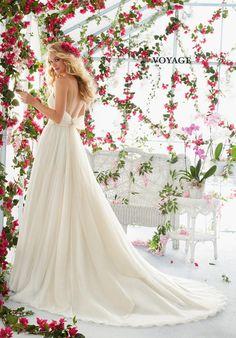 Voyage by Madeline Gardner 6812 Wedding Dress - The Knot