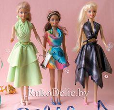 patrones de ropa de barbie (pág. 3) | Aprender manualidades es facilisimo.com