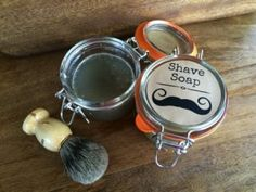 SHAVING SOAP RECIPE, it's easy with this recipe, and use whatever scent you like. Make it for men or women. And yes, it works just as well as those nasty store brands! Soap Making Recipes, Homemade Soap Recipes, Homemade Products, Shave Soap Recipe, Diy Beauty Soap, Shaving Lotion, Men Shaving, Shaving Cream, Homemade Face Wash