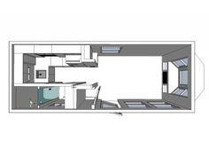The Shenandoah Tiny House by Valley View Tiny House Company$44500
