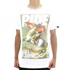 Ichiban Ride T-Shirt White - Ichiban from Ichiban Clothing UK