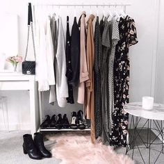 Can you tell we love clothing racks? #closetspice