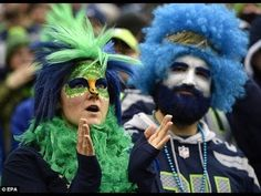 Seahawks fans Seahawks Fans, Seattle Seahawks, Denver Broncos, Percy Harvin, Sound C, Blue Friday, Superbowl Champions, Sports Fanatics, Russell Wilson