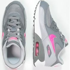 1ab8de6466b3 Nike Sportswear AIR MAX 90 Sneaker low cool grey hyper pink wolf grey white