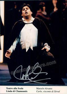 Alvarez, Marcelo - Signed Photo as Carlo