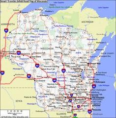 Wisconsin Cities Alphabetical Alphabetically Cities Map of