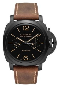 Panerai PAM 396 TOURBILLON CERAMICA 1950 CASE 48 MM $110,000 #Panerai #watch #watches #chronograph