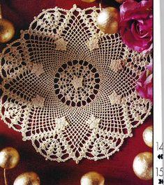 World crochet: Napkin 196