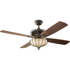Shop Del Mar Fans & Lighting for traditional Monte Carlo Aviary Ceiling Fan 4AIR52DBD in Dark Bronze at low prices.