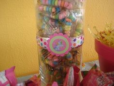 candies, and ribbon