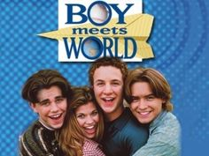 Boy Meets World. back in Jr. High people always said I looked like Topanga! lol! makes me laugh.