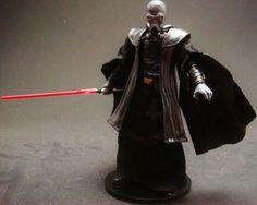 Darth Plagueis Custom Star Wars Figure by Darksider80