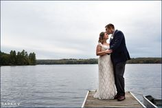 Wolf Cove Inn Maine Elopement Photographer Wedding Camp Fall Outdoor Photo Intimate / I AM SARAH V Photography